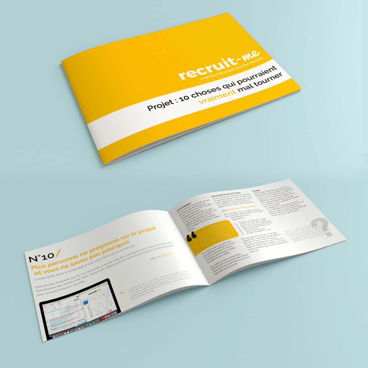 Livre blanc, 10 choses qui pourraient vraiment mal tourner durant votre projet